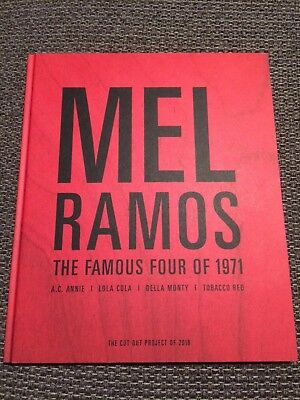 Mel Ramos 'The Famous Four Of 1971' Buch Handsigniert!
