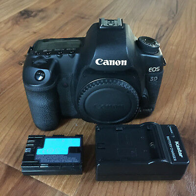 Canon EOS 5D Mark II 21.1MP Digital Camera Body - Only 21585 Shutter Counts