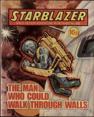 The Man Who Could Walk Through, Starblazer Space Fiction Adventure,no.80,1982