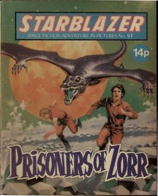 Prisoners Of Zorr , Starblazer Fiction Adventure In Pictures,no.51, 1981