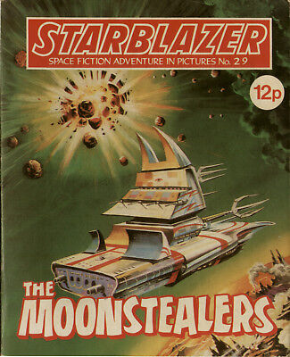 The Moonstealers ,starblazer Space Fiction Adventure In Pictures,no.29,1980