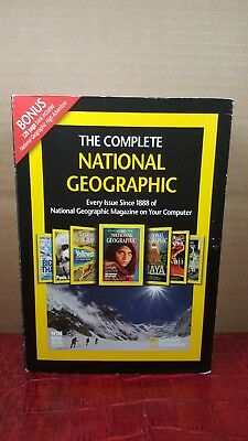 "THE COMPLETE NATIONAL GEOGRAPHIC ""Every Issue Since 1888"" on 6 DVD-ROMS"