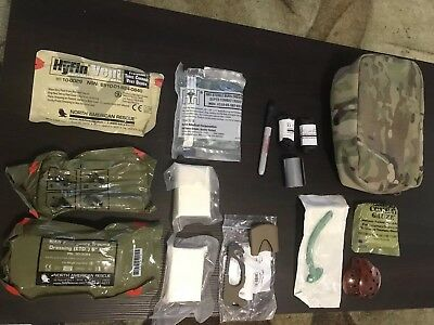 Multicam OCP INDIVIDUAL FIRST AID KIT - IFAK - QUICK CLOT 2021 - ACTIVE SHOOTER