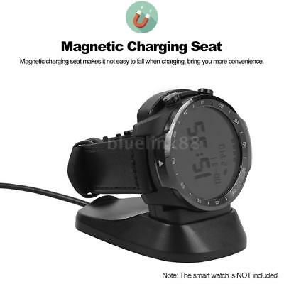 Smart Watch Charger Magnetic USB Charging Cradle Dock Seat For TicWatch Pro X5O5