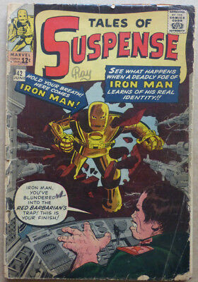 TALES OF SUSPENSE #42, EARLY SILVER AGE with STAN LEE & STEVE DITKO ARTWORK!!
