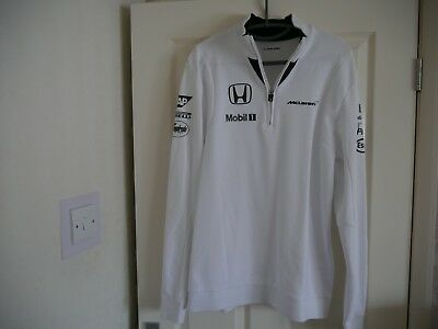 Mclaren Honda Lightweight Sweat Top - Size large