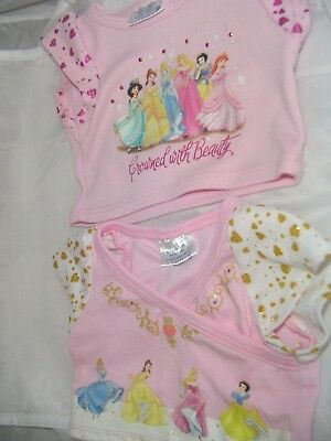 611c6ca70f6 BUILD A BEAR Workshop BABW Two Disney Princess Tops -  3.00