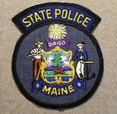 ME Maine State Police Patch