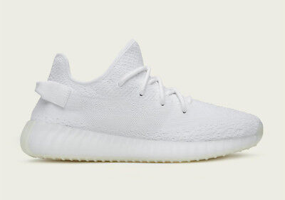 sports shoes bd102 a54aa Adidas Yeezy Boost 350 V2 Triple White Mens Sneaker Uk 13.5 Us 14 New +  Receipt