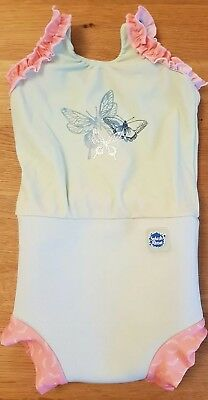 Splash About Butterfly Baby Girl Swimming Suit size Medium
