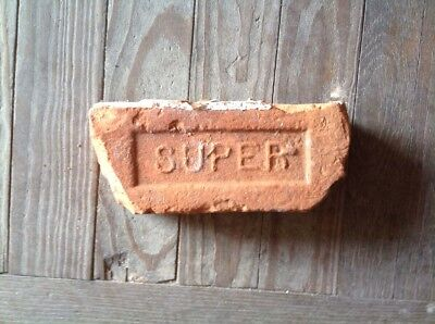 Antique Brick Stamped With The Letter  *** Super *******