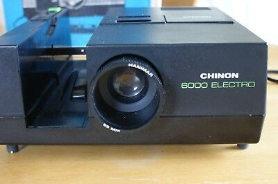 Used Chinon 6000 Electro.35mm Rotary Slide Projector