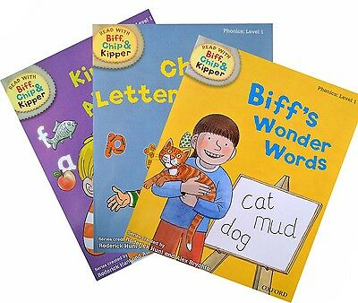 Biff, Chip and Kipper - Level 1 - Phonics Collection (3 books)