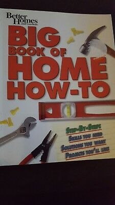Better Homes Big Book Of Homes How To