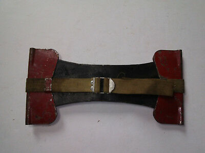 Old! Forester Western Fire Equipment Co., Double Bit Axe Guard & A Unmarked Axe