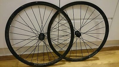 Vision Team 30 Disc 700c Wheels 11 Speed Centerlock Clincher Wheelset New