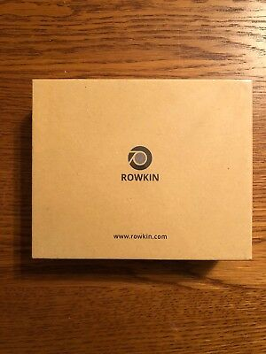 Rowkin Bit Stereo Wireless Bluetooth Earbuds With Portable Charging Case New