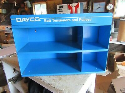 Vintage Nice Condition Metal Tools Parts Cabinet Dayco Belt Pullers Lot 18-58-50