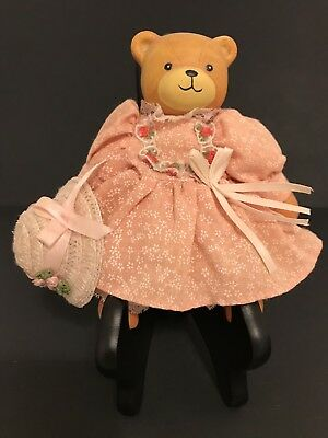Lucy Rigg/Lucy & Me Country Bear Doll; FREE PRIORITY SHIPPING !!