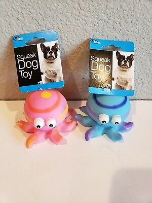 -Octopus Squeak Dog Toy Small