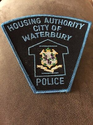 Housing Authority City Of Waterbury Connecticut POLICE PATCH