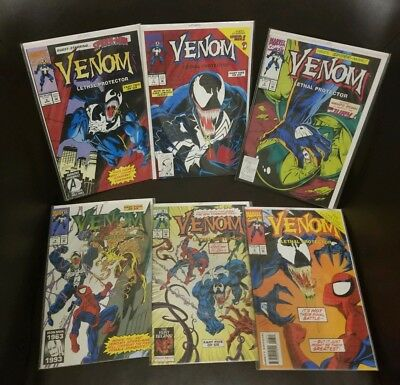 Venom: Lethal Protector #1 2 3 4 5 6 ALL NM OR NM+ 1ST APP RIOT KEY APPEARANCE