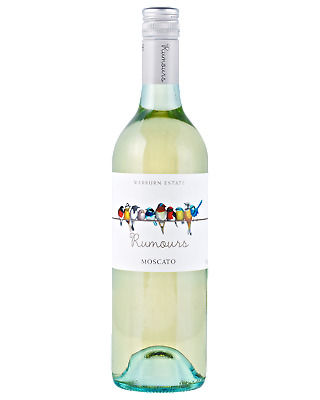 Warburn Rumours Moscato White Wine 750mL bottle