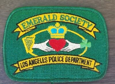 Police Department Los Angeles Emerald Society Patch