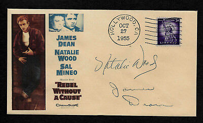 Rebel Without a Cause Collector Envelope Original Period 1950s Stamp OP1228