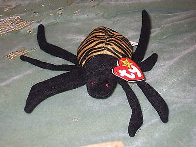 Ty Beanie Babies - Spinner the Spider