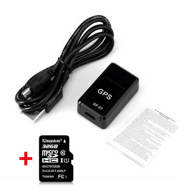 Mini GPS Real Time Car Locator Tracker Magnetic GSM/GPRS Vehicle Tracking Device