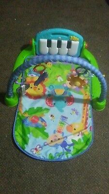 f44719bdc FISHER-PRICE BABY KICK   Play Piano Gym - Blue -  6.50
