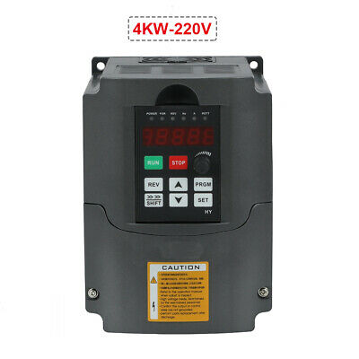 New 4kw 220V 5HP Variable Frequency Drive Inverter VFD Motor Speed Controller
