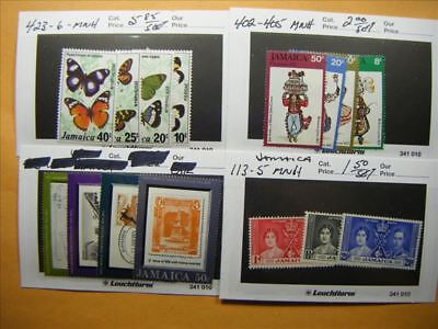 7169 Br. Commonwealth Lot of 4 Mint Stamp Packs