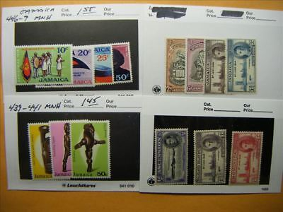 7170 Br. Commonwealth Lot of 4 Mint Stamp Packs