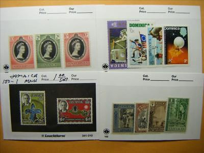 7175 Br. Commonwealth Lot of 4 Mint Stamp Packs