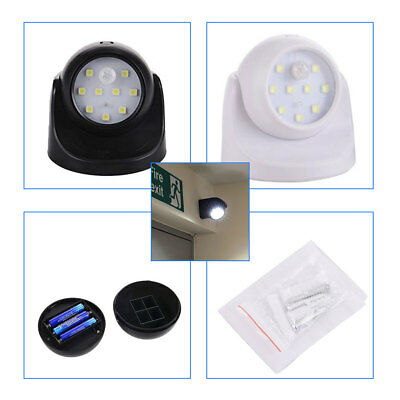 Indoor Outdoor 360° Led Garden Motion Sensor Security Battery Operated Light