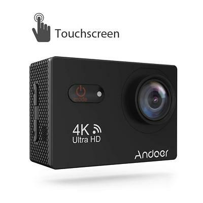 Sports Camera, Andoer 4K Touchscreen Action Camera 2inch LCD Wireless 16MP Ultra