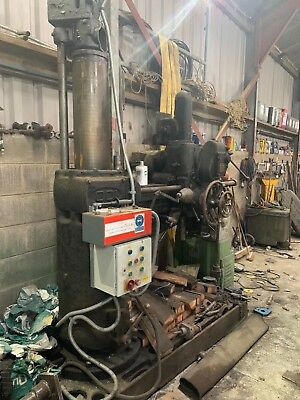 Asquith OD1 Radial Arm Drill Engineers Machine Workshop Breaking for Spares