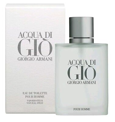 Acqua Di Gio By Giorgio Armani 100ml EDT Eau de Toilette Spray BRAND NEW SEALED