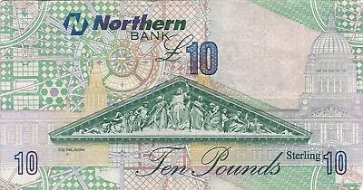 10 Pounds Northern Bank Nordirland