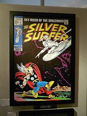 Silver Surfer # 4 - Limited Edition Framed Boxed Canvas - Signed By Stan Lee