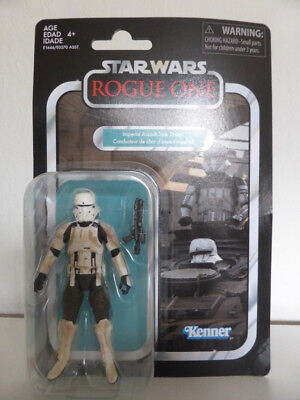 """Star Wars Imperial Assault Tank Driver Vintage Collection Hasbro 3.75"""" VC 126"""