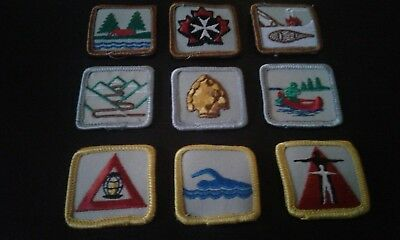 Scouts Canada Various Achievement Awards (1968-1998) Lot NEW