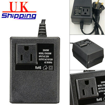 220V/240V Converter To 110V/120V International Voltage Power Electric Adapter