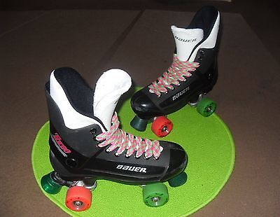 Bauer turbo original roller skate size 2,3,4,5,6,7 Krypto/Sims/Belair/Airwaves.