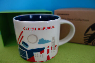 Starbucks Tasse -  Czech Republic -  You are here YAH ++NEU++SKU+++