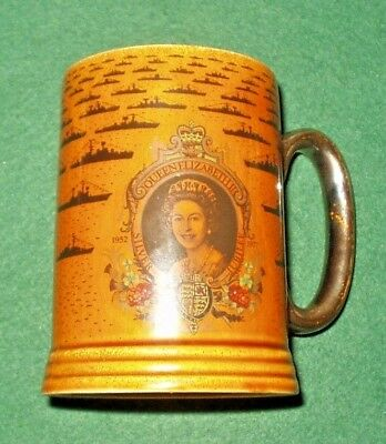 Lord Nelson Pottery Fleet Review Spithead. June 28Th 1977 Tankard