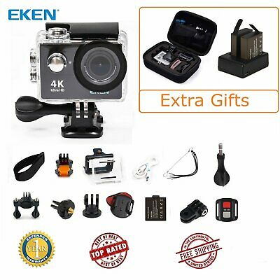Eken H9R WIFI Ultra HD 4K Action Camera Waterpfoof 1080P +Remote 17 Accessory US
