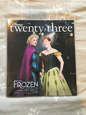 D23 Disney Twenty-Three Frozen Magazine Spring 2018 Anna Elsa